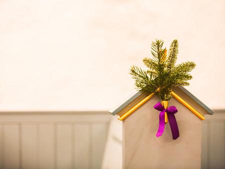 Billede af jul i kirken