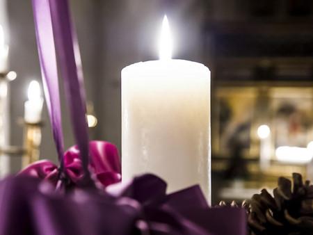 Billede af adventskrans