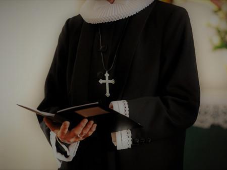 Billede af præst